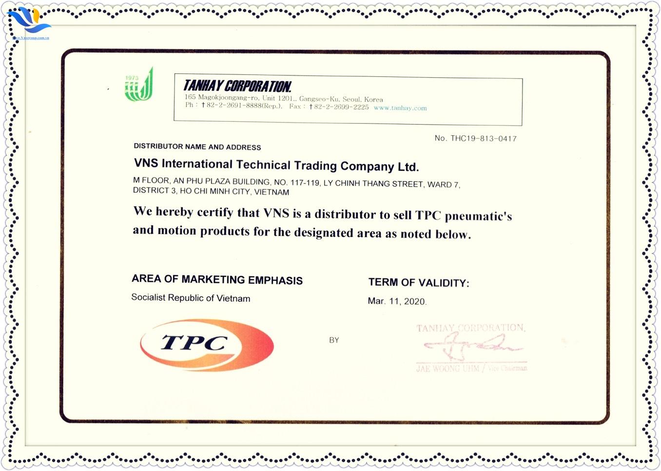 XY LANH COMPACT TPC - AQ2 BORE 100